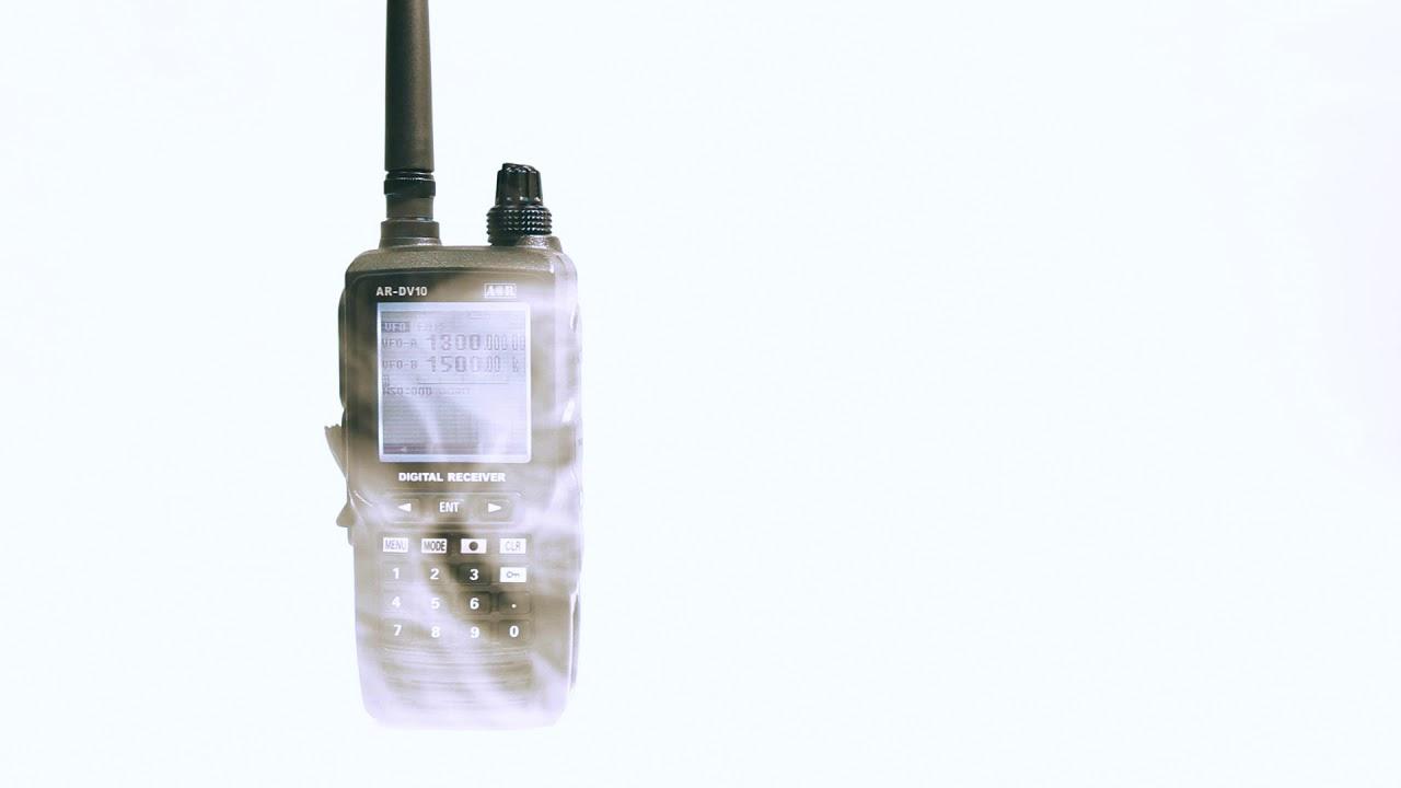 Atlas Communications presents the AOR AR-DV10