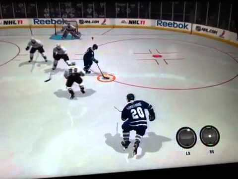 NHL 11 One Timer Sniper And Laser Shot