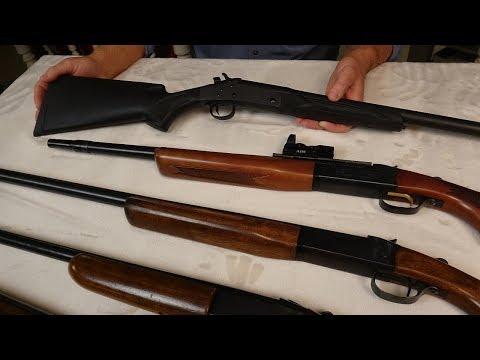Most Useful Firearm? Single Shot Shotguns