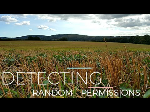 Garrett Ace 400i - Detecting Random Permissions 2 - Romans and Jettons - (#9)