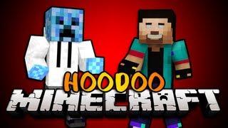"""PUSH THEM BACK!"" Minecraft HOODOO PVP w/NoahCraftFTW & Friends! - Round 1"