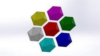 How to make Icosahedron by SolidWorks thumbnail