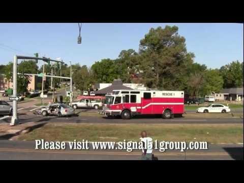 Major Car Accident -- Youree Dr. and East Washington -- Shreveport, Louisiana