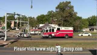 Major Car Accident -- Youree Dr. and East Washington -- Shreveport, Louisiana