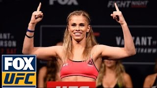 Full Weigh-In: Paige VanZant vs. Michelle Waterson   UFC ON FOX