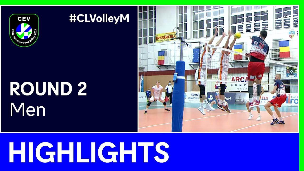 JASTRZEBSKI Wegiel vs. C.S.M. Arcada GALATI Highlights - #CLVolleyM