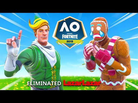 I *ELIMINATED* Lazarbeam In The Fortnite Pro Am!