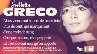 Juliette Gréco - La fiancée du pirate - Paroles (Lyrics)