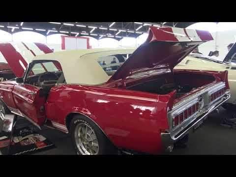 Shelby Mustang GT R clone Convertible tribute Dallas Texas Autorama  #Mustang