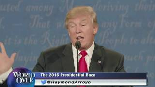 World Over - 2017-01-19 – Highlights of President Donald Trump's Interview with Raymond Arroyo