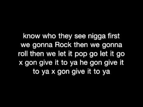Dmx   x gon give it to ya + lyrics