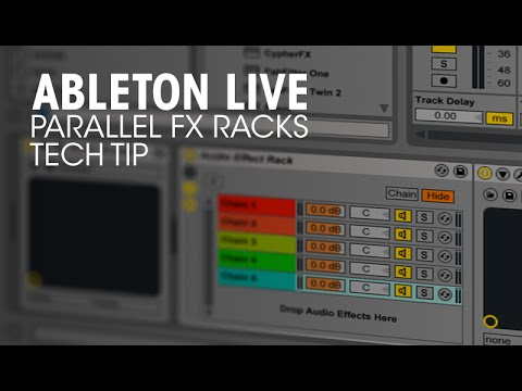 Wicked Parallel FX Racks Trick in Ableton