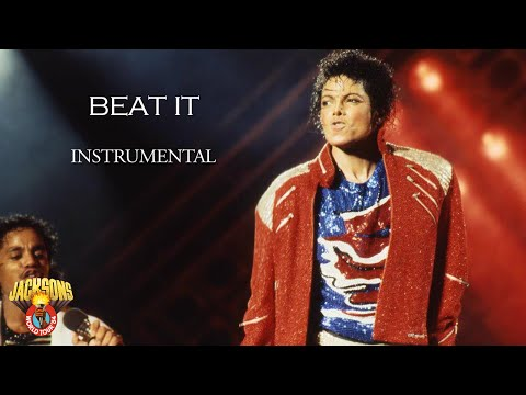 Michael Jackson  Beat It  Victory Tour  Instrumental