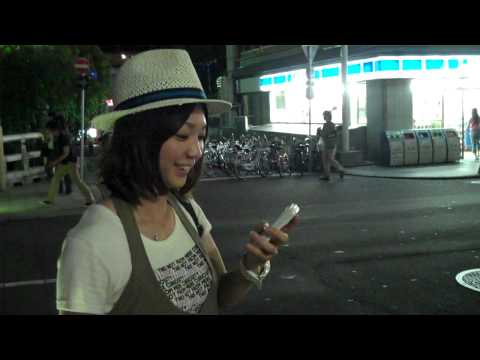 Talkin to Some fine Japanese Girl in Front of Starbucks