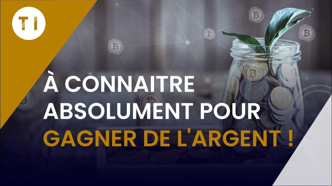Maitrisez absolument ça si vous souhaitez gagner dans les crypto monnaies !