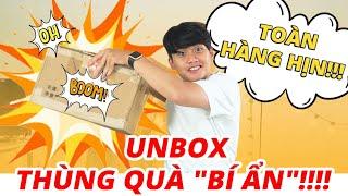 """UNBOX THÙNG QUÀ """"BÍ ẨN"""" SIÊU SHOCK TỪ SHOPEE!!!"""