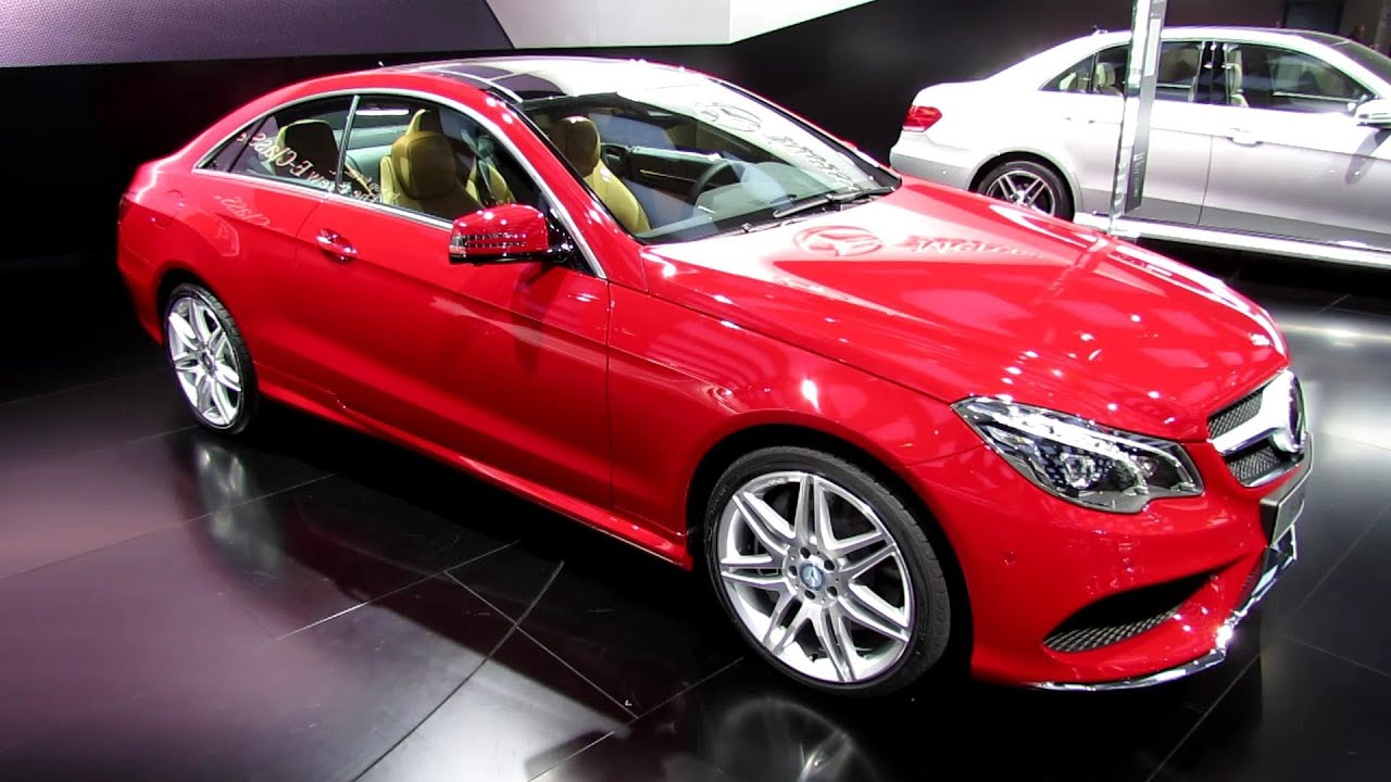 2014 Mercedes E350 For Sale >> 2014 Mercedes-Benz E550 Coupe - Exterior and Interior Walkaround - 2013 Detroit Auto Show - YouTube