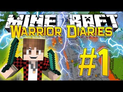 Minecraft Warrior Diaries - Hunger Games Survival on Mineplex (Episode 1)