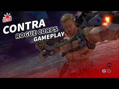 Contra Rogue Corps : Gameplay  