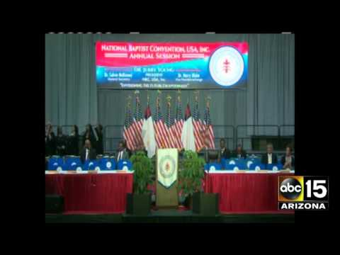FULL EVENT: MO Hillary Clinton National Baptist Convention Address
