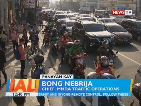 BT: Panayam kay Bong Nebrija, chief, MMDA traffic operations
