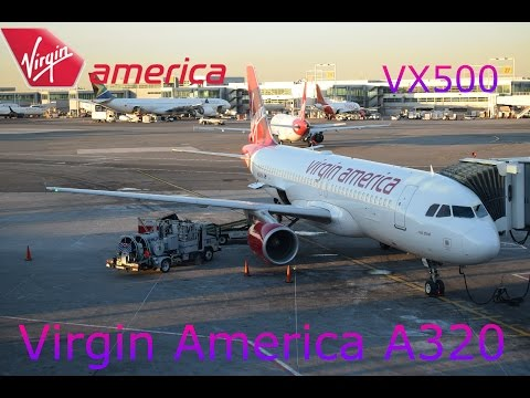 Virgin America Main Cabin Trip Report