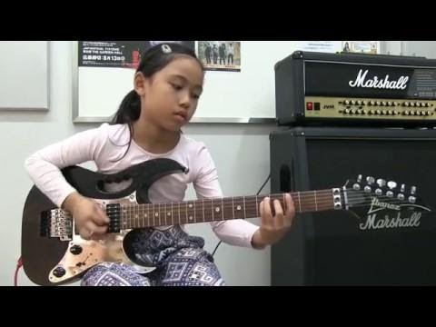 Canon Rock - Jerry C - Kei guitar cover 9 yrs old 9歳キッズギター カノンロック