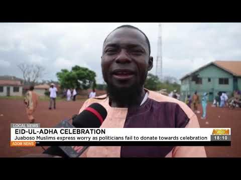 Juaboso Muslims express worry as politicians fail to donate - Adom TV News (20-7-21)