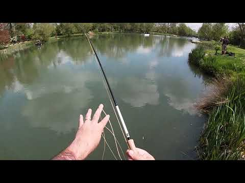 Lechlade Trout Fishery - Summertime When It's Tough Patience And Small Nymphs Needed