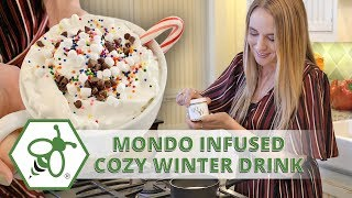 Easy Hot Chocolate Recipe with All Natural Mondo Pre Dosed Cannabis Powder