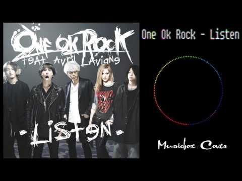 [Music box Cover] One Ok Rock - Listen (Ft Avril Lavigne)