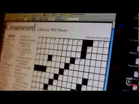 Will Shortz on How a Crossword Is Made - From New York Times Puzzle Master