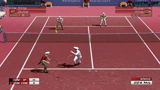 Virtua Tennis 3 | Duke/King vs King/Duke 2-0
