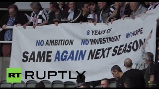 UK: Furious Newcastle fans want owner Mike Ashley out