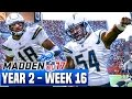 Madden 17 Chargers Franchise Year 2 - Week 16 @ Broncos   Ep.39