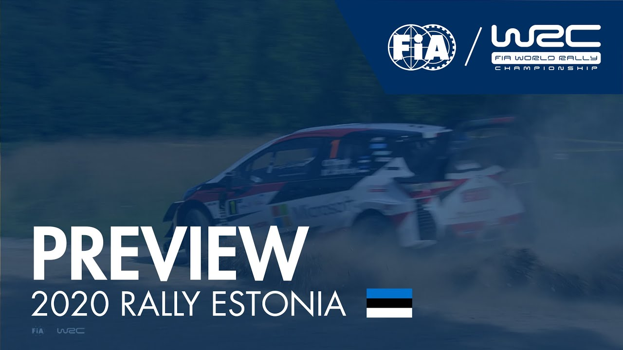 WRC - 2020 Rally Estonia - Preview
