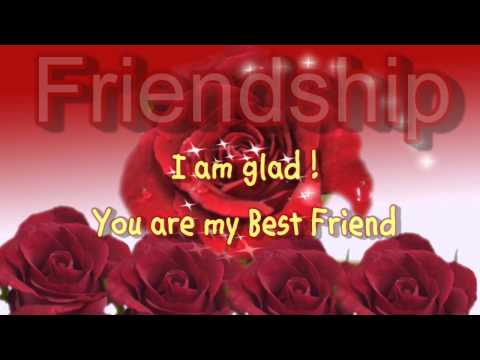 Best Friendship Day Greeting Cards - Rose Flowers Greeting Ecard For Best Friend