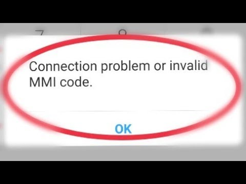 How To Fix 100% Connection Problems Or Invalid MMI Code Solve In Andoird thumbnail