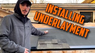 How To  Nstall Roofing Underlayment