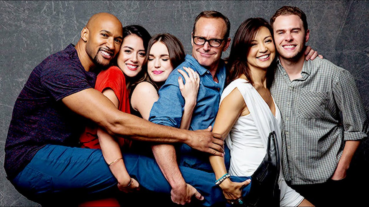 agents of shield cast | best of sdcc2016 #1