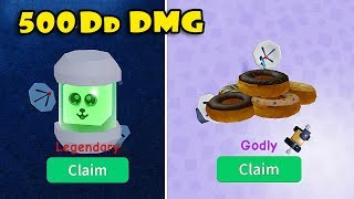 I GOT 500Dd DAMAGES & GODLY HAT DA HAT CHEST In UNBOXING SIMULATOR! [Roblox]