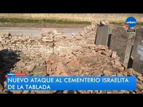 Nuevo Ataque En El Cementerio Israelita De La Tablada