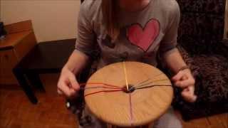 Кумихимо шнур 8F Edo Yatsu - Видео урок Алеси Борец.