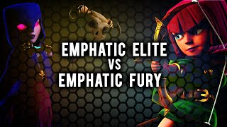 Emphatic Elite vs Emphatic Fury | Cleanup Attack | Clash of Clans