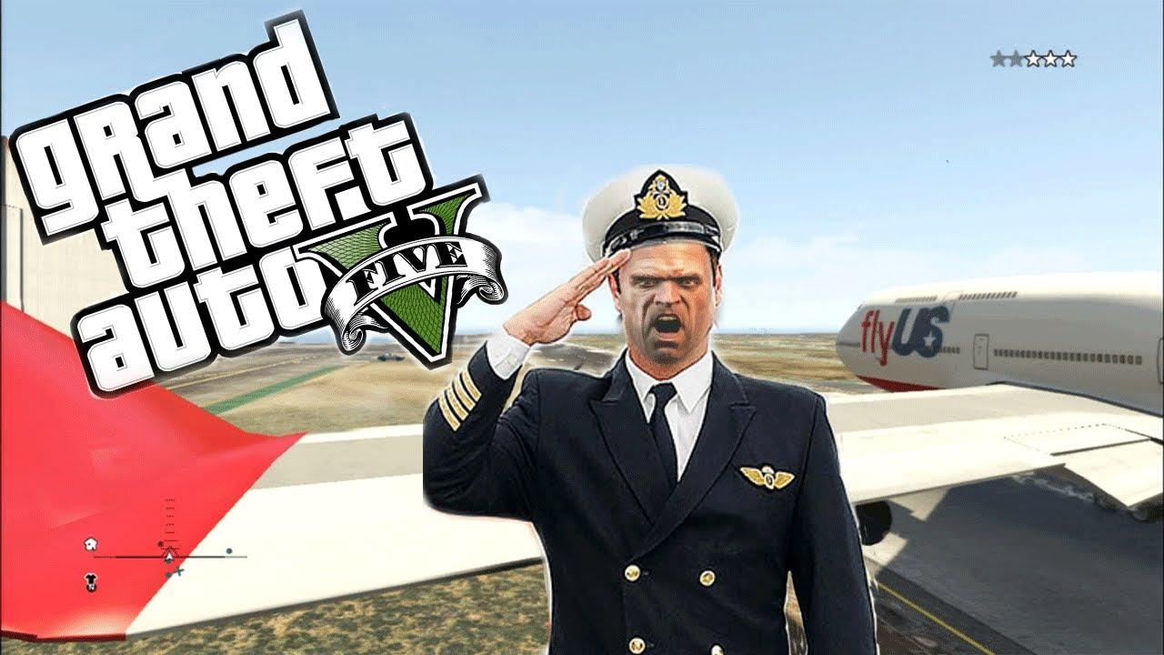 GTA 5 - Trevor the PILOT
