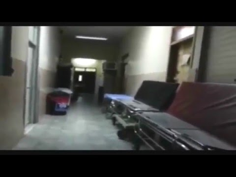 Creepy footage appears to show ghost in a hospital in Honduras
