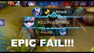 Mobile Legend Epic Fail