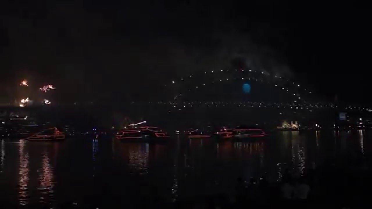 Sydney new years eve 2014 2015 - YouTube
