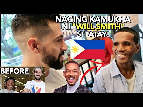 PART 2: Filipino HOMELESS Man MAKE-OVER! Dinala Ko Sya sa AYALA ALABANG VILLAGE  🙏🇵🇭