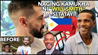 PART 2: Filipino HOMELESS Man MAKE-OVER & Pang- MAYAMAN STYLE Experience!  🙏🇵🇭